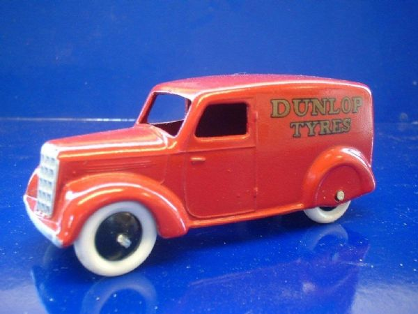 "A DINKY TOYS COPY MODEL 28 SERIES TYPE 3 DELIVERY VAN ""DUNLOP TYRES"""